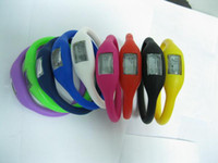 Wholesale Silicone Anion Electronic Sports Wrist Watches Health Wristwatch Power Watch Bracelet