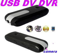 Wholesale New Mini DV DVR USB Disk Spy Camera Motion Detection U8