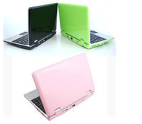 Wholesale 10pcs inch Android Notebook via wm Q703 Mini Netbook Laptops