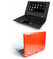 Wholesale 5pcs inch Android Notebook via wm Q703 inch Mini Netbook Laptops