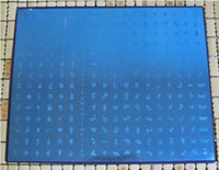 Wholesale 2PCS New Big Size DIY Nail Art Stamping Stamp Image Plate Stamping Nail Art Image Plates Free Sh