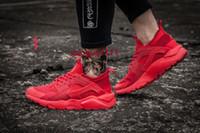air huaraches sneakers - 2016 low price High Quality Air Huarache Ultra Run Mesh Breathe Running Casual shoes Mesh Men Women s Huaraches Sneakers Size Eur