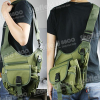 Wholesale Hot Sale Military Army Green Outdoor Shoulder Nylon Bag Drop Leg Utility Waist Pouch Carrier Bag