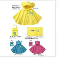 Wholesale Cute Children Rain cape Kids rain coat poncho Children raincoat Children kids