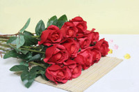 Wholesale Mixed color Decorative Red rose Artificial flowers Decorative flowers Dried flowers