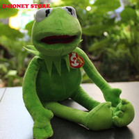 aquatic frogs - 1pcs cm KERMIT THE FROG PLUSH SOFT TOY THE MUPPETS SHOW FILM TEDDY BNWT for baby kids christmas dolls plush