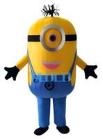 Compra Minion costume-In vendita! Trasporto libero, 8 stili, Cattivissimo me <b>minion costume</b> della mascotte per gli adulti me spregevole costume della mascotte