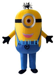 Wholesale On sale styles Despicable me minion mascot costume for adults despicable me mascot costume