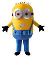 Cattivissimo Me <b>Minion costume</b> mascotte per adulti Cattivissimo Me costume della mascotte