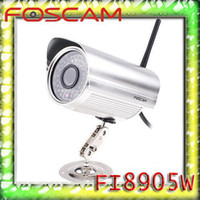 Wholesale Hot Foscam FI8905W Wireless IP Network Detect WLAN Cam IR Camera High Quality Globalink