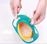 Wholesale Hot Sale Gyro Bowl Universal baby bowl toys UFO Bowl Training Bowl Flying Saucer Bowl in stock