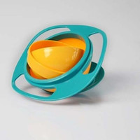 Wholesale 2013 Gyro Bowl Universal baby bowl toys UFO Bowl Training Bowl drop shipping