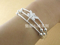 Bangle silver jewelry - Fashion Dragonfly Jewelry Silver Bangle Sterling Silver Bracelets Cuff Styles TF301