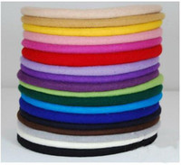 Wholesale 100pcs Fair Lady Hat Wool Beret Pure color Painter s hat Dome Hat Mix color QRQR001
