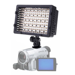 Meilleures lumières de led photo en Ligne-La meilleure vente! CN-160 160 LED caméra vidéo DV caméra photo photo éclairage 5400K pour Canon Nikon, Livraison gratuite + Drop Shipping