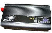 Cheap Hot Sale 220V 800W Modified Sine Wave USB Mobile Car Power Inverter DC 12v to AC 220v Transformer Inverter with USB
