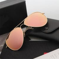 Wholesale 2016 Fashion UV400 Protection Men Women Sunglasses High Quality Brand Designer Sunglasses Vintage Classic Fishing Driving Eyewear With Box