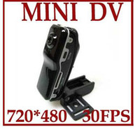 Wholesale 5pcs MINI DV DVR Video Recorder Hidden spy Camera Camcorder MD80 With AC charger
