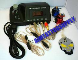 Wholesale LCD tattoo power supply rotary tattoo machine