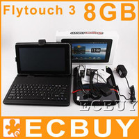 Wholesale GPS Epad android flytouch G laptop free Keyboard Case G SD Card Nylon Case Screen Protector