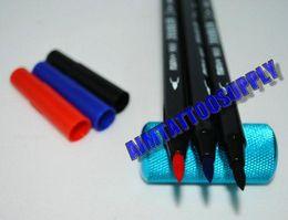Wholesale 3 colour MARVY Tattoo Skin Marker Piercing Transfer pencil HOT