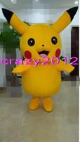Costume du personnage Qualité Pikachu Mascot Costume populaire Cartoon Haute Pour Costume Adulte Fancy Party Dress