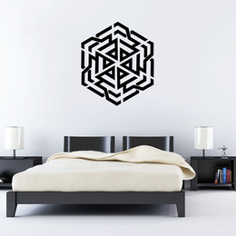 islamic muslin wallpaper home decor wall stickers living room bedroom wall art mural poster decorative wall applique - Islamic Home Decoration