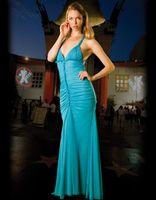 Chiffon Sleeveless Floor-Length WOW! Halter Ruffle Sky-blue Chiffon Evening Dress Prom Dress Formal Dress Cocktail Dress Party Dress
