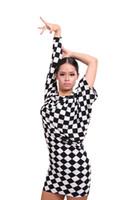 Robe de danse latine pour femme Costumes de pratique de loisirs pour salle de bal Salsa Tango Square Dance 2015 Nouvel arrivé Style d'été Vente chaude