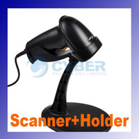 Wholesale Acan USB cm Automatic Laser Barcode Scanner Bar Code Reader Holder Stand Black