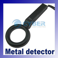 Wholesale Portable Hand Held Security Metal Detector Scanner LED Indicator Light Weight Public Security