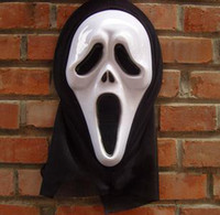 Wholesale Scream Scary Movie Ghost Face Mask Prop Halloween Party