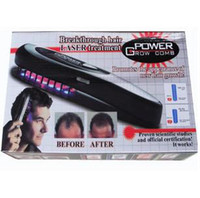 Wholesale Power Grow Comb Personal Home Laser Comb Breakthrough Treatment Hair Comb Massage Comb