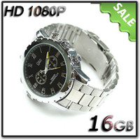 Wholesale 16G HD P Watch Spy ATM Waterproof Camera Hidden DVR Night Vision SC337 Globalink