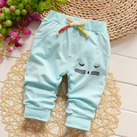 Wholesale 2016 summer new year old baby girl pants pants four colors can choose to feel comfortable