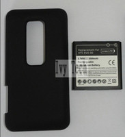 htc evo - For HTC Sprint EVO D Extended Battery mAh Back Cover For HTC EVO D Per