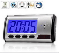 Wholesale Hot selling High Definition Spy Camera Alarm Clock With Motion Detection Spy Hidden Cam SP76