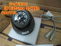 Wholesale 10pcs TVL CCD vandalproof CCTV Camera from bivictory