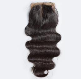 Silk Base Closure Body Wave Deep Curly Loose Wave Straight Unprocessed Brazilian Indian Malaysian Peruvian Human Hair DHL Free Shipping