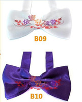 Wholesale Fashionable women men clothes bow tie marriage bow tie style T