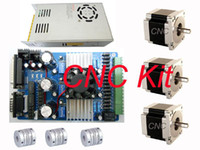 Wholesale to sell T B Axis Driver and Nema Stepper Motor C N C kit New