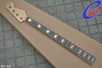 bass neck - guitar necks bass neck frets strings bass made of rosewood