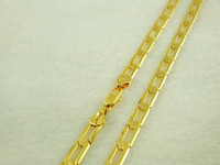 Wholesale MM inch Mens Bling Gold Plated Inch Cuban Necklace Chains GP