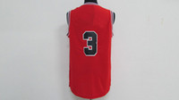 Wholesale Top quality Dw basketball jerseys Home Swingman Stitched Red Replica Jersey Embroidery logo number name