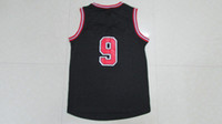 Wholesale Top quality Men s basketball Jersey Red Replica Jersey Embroidery logo number name