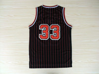 Wholesale Top quality Jersey Cheap Basketball Jersey Scottie Pippen New Rev Embroidery Logo