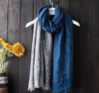 5pcs / lot el mejor regalo de la señora de la bufanda 8colors de las mujeres del patten del algodón de la manera del otoño 2016 para el recorrido 90x180cm de la playa
