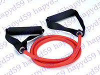 Wholesale new yoga tube RESISTANCE BAND TUBE EXERCISE TRAINING m