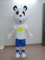 Wholesale Sell like hot cakes Sanny small couples tianrun baby fixed cat mascot cartoon doll clothing show