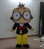 big king xxl - Factory Outlets The Big Eye Monkey King Wearing Suit Cartoon Costume Suit Stage Performance Mascot Costume Suit
